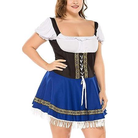 Neborn Disfraces de Halloween para Mujer Disfraz de Oktoberfest ...