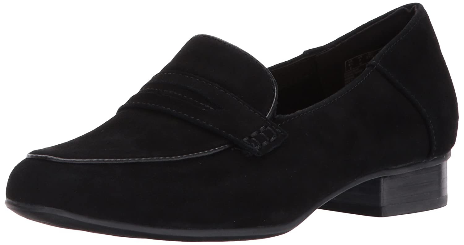 Black Sde Clarks Womens Keesha Cora Penny Loafer