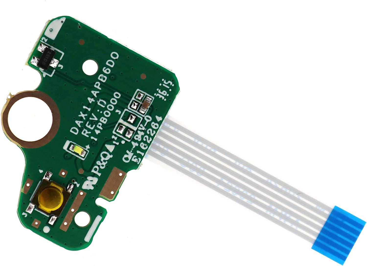 Deal4GO ON Off Power Button Board w/Cable Replacement for HP Star Wars 15-an Pavilion 15-AB 15-AK 15-AN050NR 809033-001 DAX14APB6D0 DAX1PDPB8D0