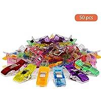 Qoosea 50Pcs Clips de costura coloridos Accesorios