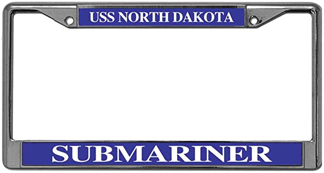 Proud Canadian //American License Plate Frame Tag Holder