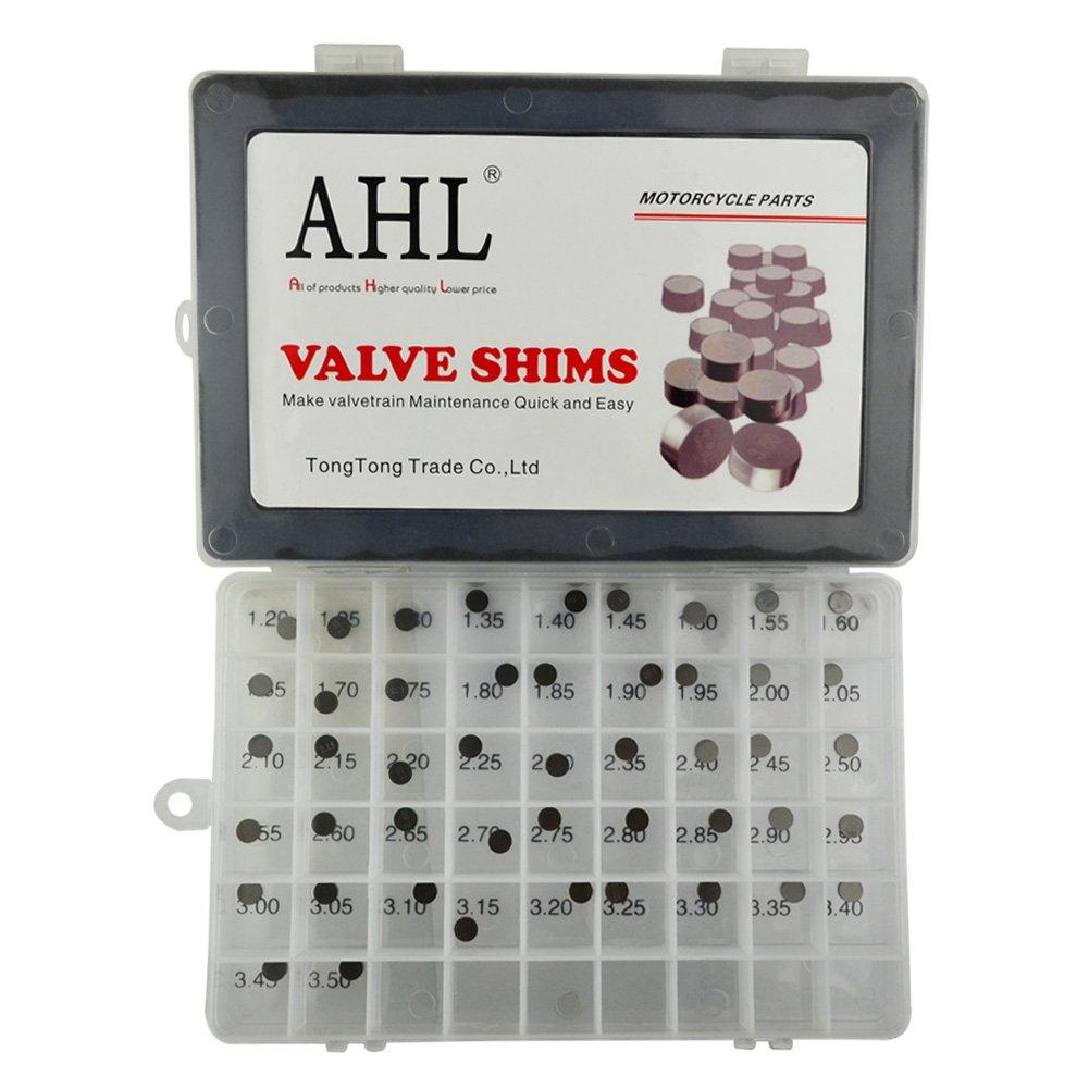 AHL 7.48mm O.D. Adjustable Valve Shim Kit for Honda CRF250R CRF250 R 2004-2012 (47pcs)