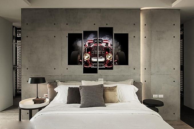 Amazon.com: jojoil Arte salón cama habitación Matched Cool ...