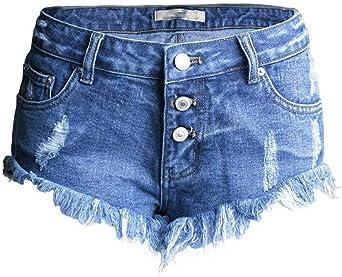 Agujeros Irregulares Para Mujeres Cher Pantalones Cortos Para Ninas Mode De Marca De Moda Pantalones Vaqueros Pantalones Vaqueros Cortos Para Mujer Pantalones De Verano Elegantes Con Flecos Amazon Es Ropa Y Accesorios