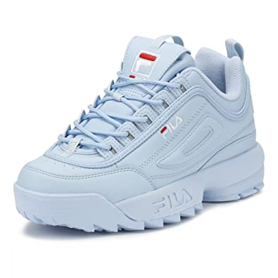 9ed679a9537d Fila Disruptor II Premium Womens Angel Falls Blue Trainers  Amazon.co.uk   Shoes   Bags
