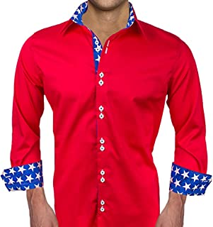 product image for Patriotic Designer Dress Shirts - Made in USA