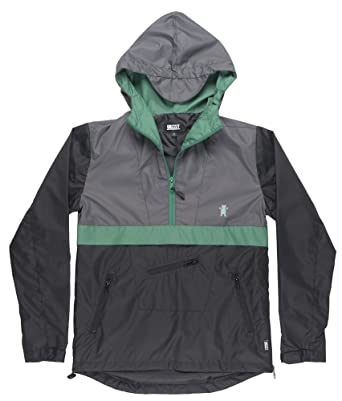 Grizzly Griptape Cross Country Anorak Mens Pullover Jacket in ...