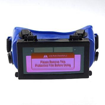 MASO Pro - Gafas de soldar para oscurecimiento automático, protección solar para casco, gafas