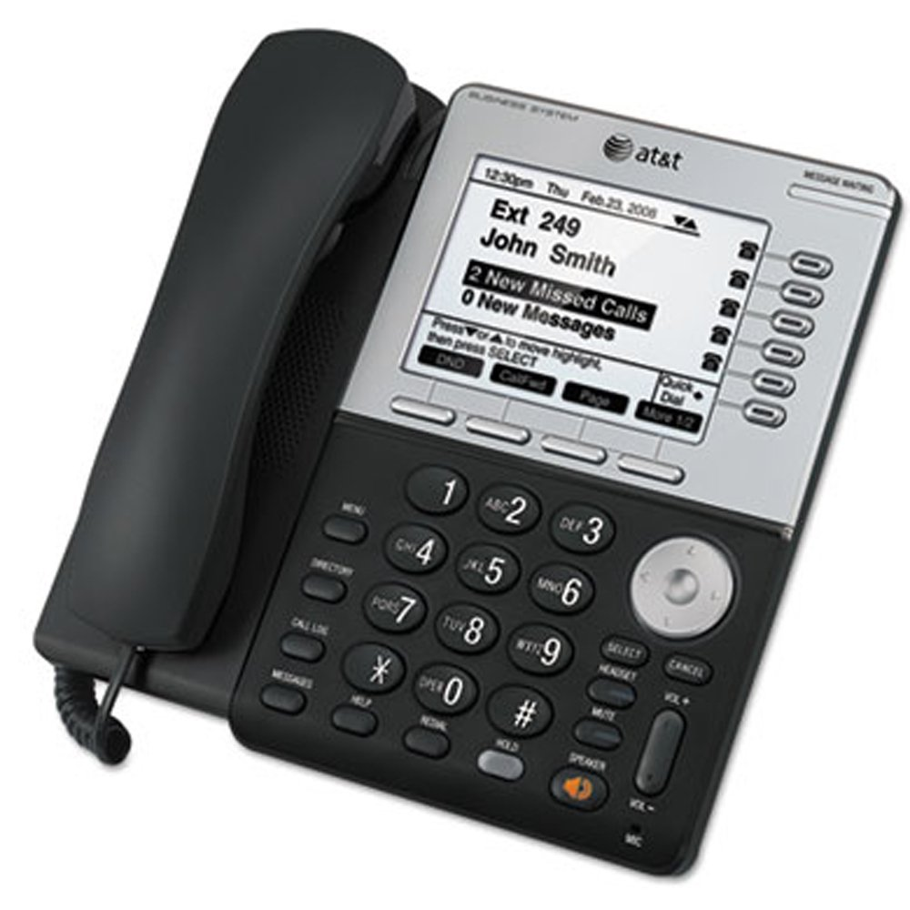 AT&T SB35031 Syn248 Corded Deskset Phone System for Use with SB35010 Analog Gateway by VTech (Image #1)
