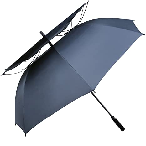 G4Free Parasol de golf a prueba de viento de 62 pulgadas, autom¨¢tico