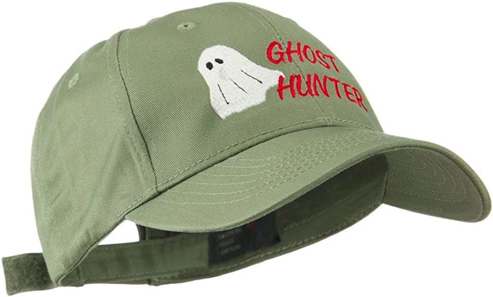 Halloween Ghost Hunter Embroidered Cap