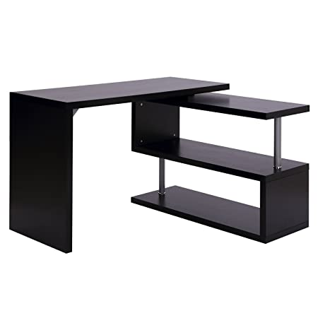 Homcom - Escritorio para ordenador mesa de ordenador, mueble de ...