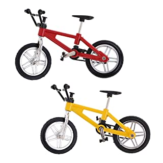 D DOLITY Stylish Finger Mountain Bike Bicycle Model Creative Game for Children Kids Gift
