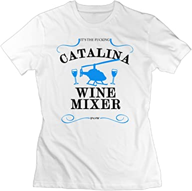 Amazon.com: It's The Fucking Catalina Wine Mixer Optimum Woman T ...