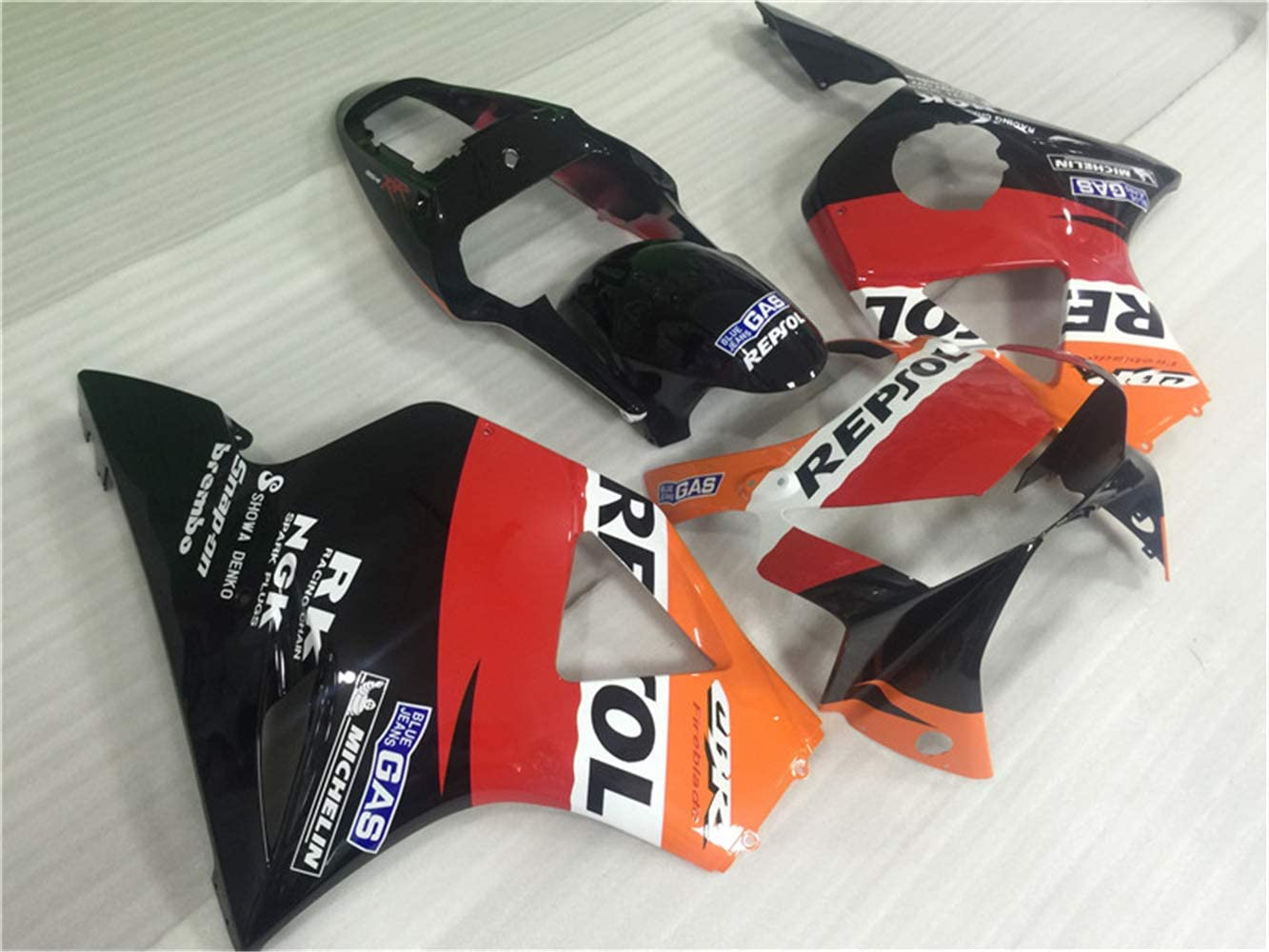 New Orange Repsol Fairing Fit for HONDA 2002 2003 CBR954RR 900RR 954RR Injection Mold ABS Plastics Aftermarket Bodywork Bodyframe Kit Set 02 03