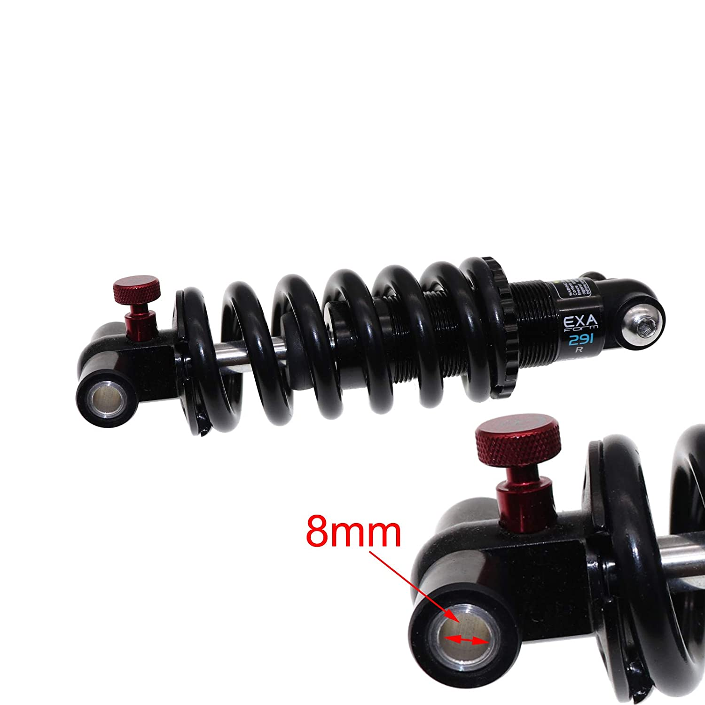 Exa Form Rear Shock Absorber 291R 291 Adjustable Suspension Shocks Spring Kindshock Downhill MTB Bike 125mm 1000 1250 1500 Lbs Electric Scooter