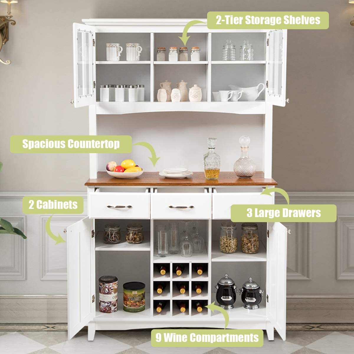 Kitchen Islands Buffets And Cabinets 2021