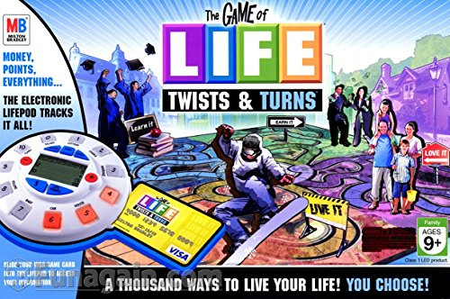 The Game of Life: Twists & Turns Electronic Edition - Board Game