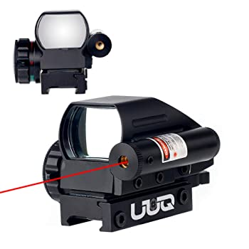 UUQ Tactical Holographic Red/Green Reflex Scope Sight