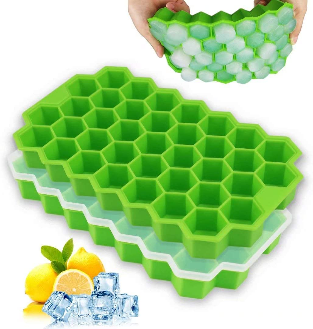50% Off Coupon – 2 Pieces Silicon Ice Cub Trays