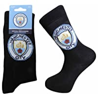 Manchester City FC. Mens Socks - Size 6-11