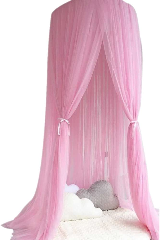 Children Bed Canopy,Kids Dome Cotton Mosquito Net Play Tent Room Decoration