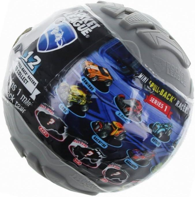 Rocket League Mini Pull-Back Racer Car Mystery Ball 1-Pack
