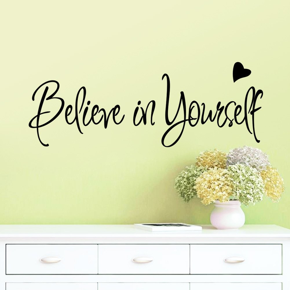 Amazon.com: BIBITIME Believe In Yourself Office Inspirational ...