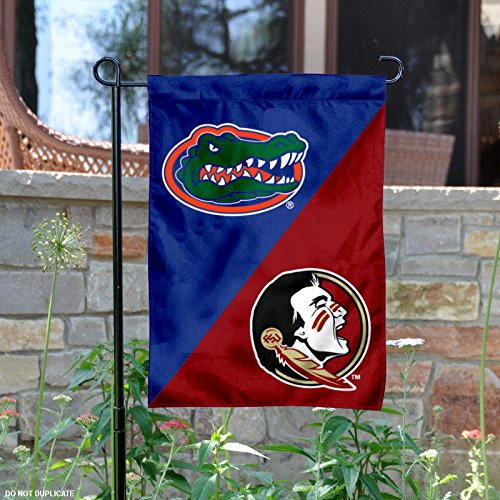 House Divided Garden Flag (Florida State Seminoles House Divided Garden Flag)