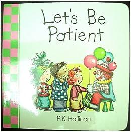 Let s be patient