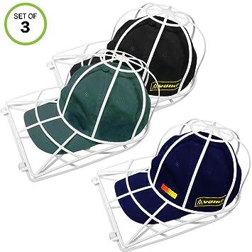 Amazon.com: Evelots 3 soportes para lavar gorras para ...