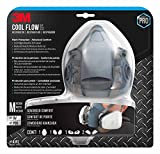 3M 7512PA1-A-PS Professional Paint Respirator, Medium