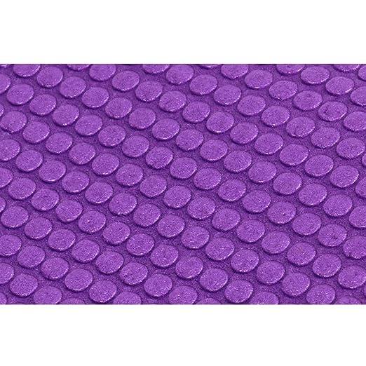LINDANIG PVC Yoga Mat Ambientalmente amigable Antideslizante ...