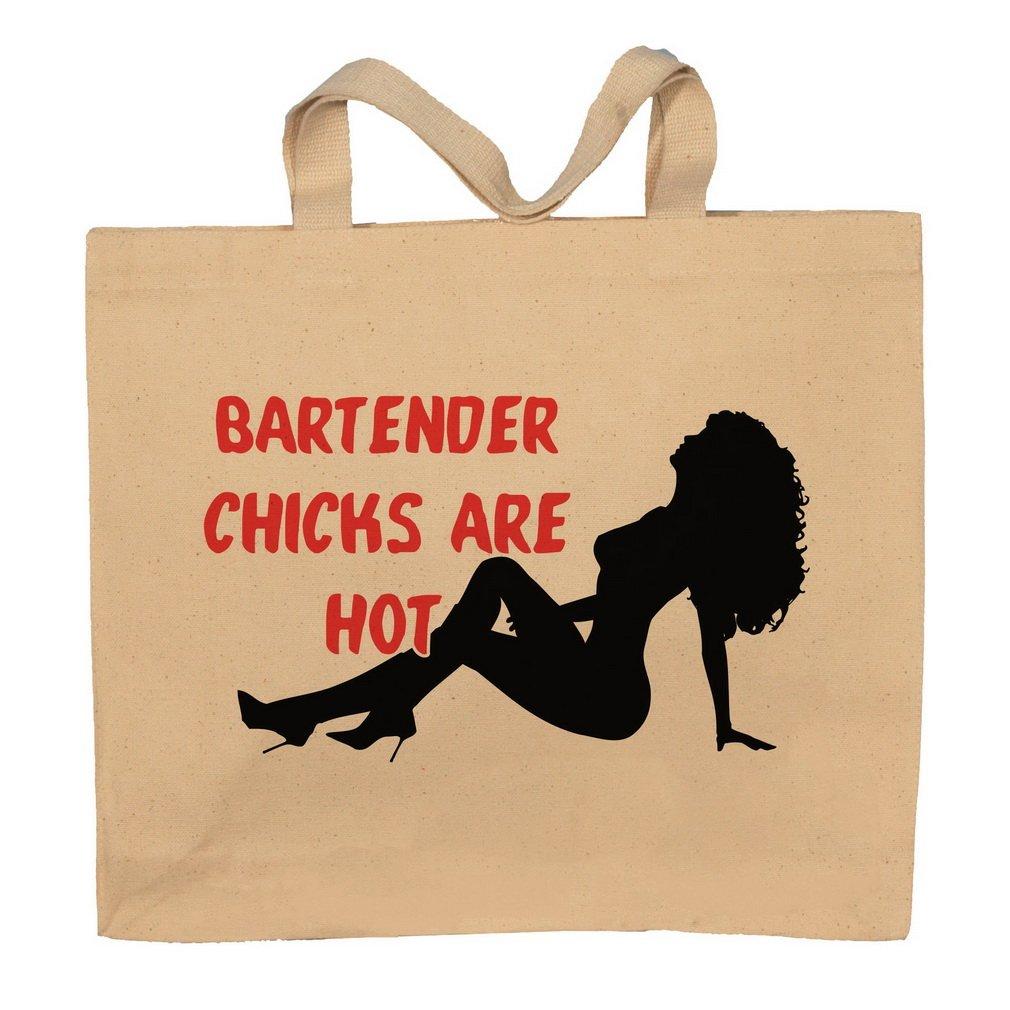 Bartender Chicks Are Hot Totebag Bag