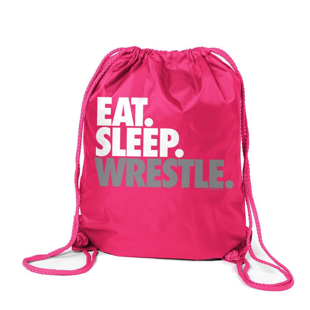 本物 Eat | Sleep Wrestle (区点) シンチサック シンチサック | ChalkTalkSPORTS レスリングバッグ B00VAIAFMY B00VAIAFMY ピンク ピンク, ヴィーナスラボ:f16dbe36 --- fenixevent.ee