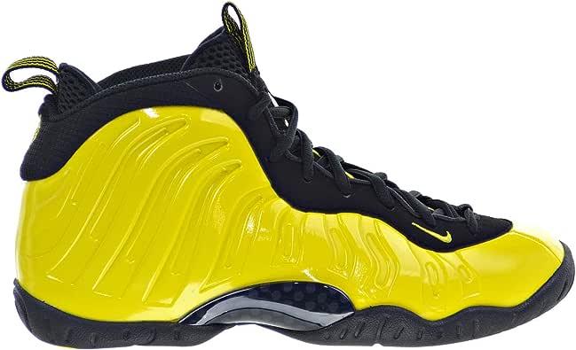 Nike Air Foamposite One Wu-Tang Zapatos para niños grandes, color amarillo/negro 644791-701: Amazon.es: Zapatos y complementos