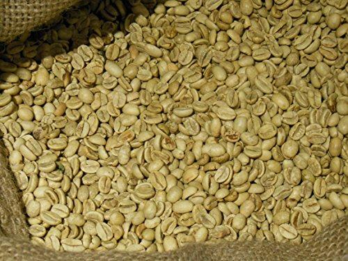 India Monsooned Malabar AA Unroasted Green Coffee Beans (5 lb)