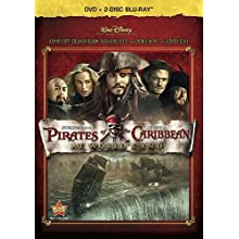 Pirates Of The Caribbean: At World's End (Three-Disc Blu-ray / DVD Combo in DVD Packaging) (2007)