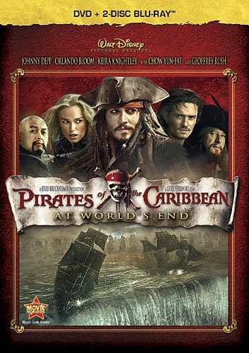 3 Disc Combo (Pirates Of The Caribbean: At World's End (Three-Disc Blu-ray / DVD Combo in DVD Packaging))