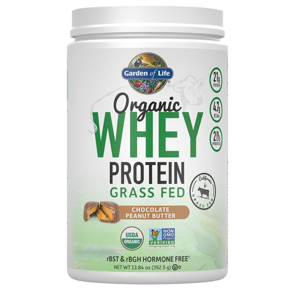 Amazon.com: Garden of Life Protein Powder - Organic Whey Protein Powder, Grass Fed, Vanilla, 13