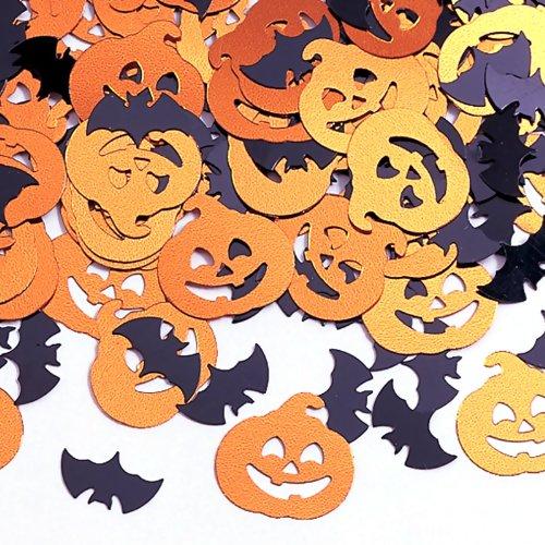 Creative Converting Bats & Pumpkin Bats & Pumpkin Confetti, Multicolor, One Size