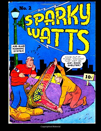 Download Sparky Watts #2: Golden Age Strong Funny Man 1942 pdf epub