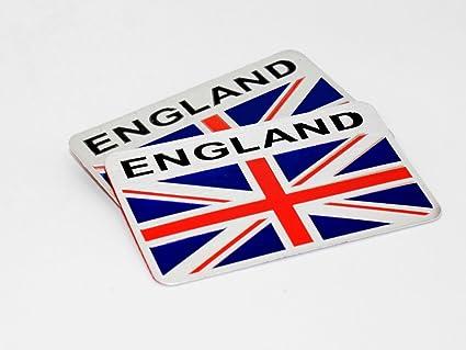 Amazon Com Uk England Great Britain Union Jack 8cm License Plate