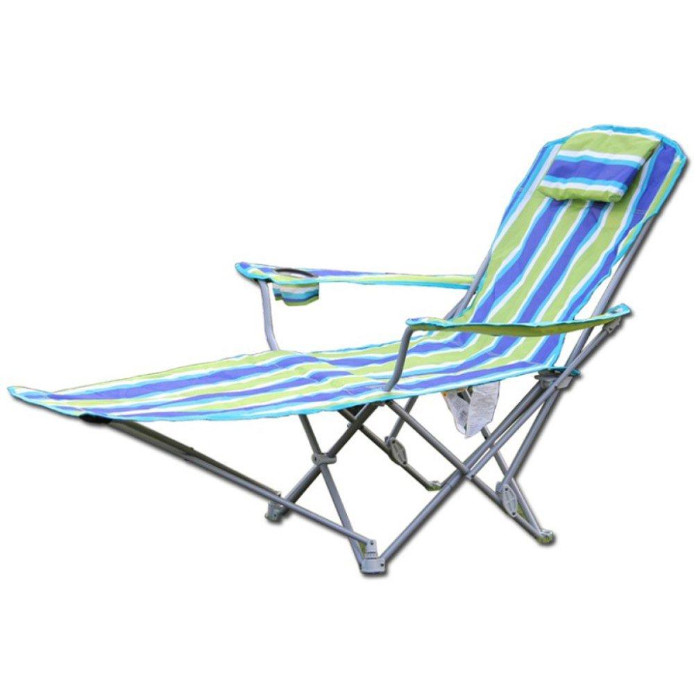 YUJIE Liegestühle Klappstühle Geeignet Für Den Garten Camping Solarium Reisen Tragbar 300 lbs
