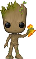 Funko Pop Collectible Figure Marvel Avengers Infinity War-Groot with Stormbreaker, Multicolor Action Figure, colorMulticolor