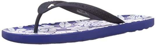 Crocs Unisex Navy and Cerulean Blue Flip-Flops and House Slippers - M10W12 <span at amazon