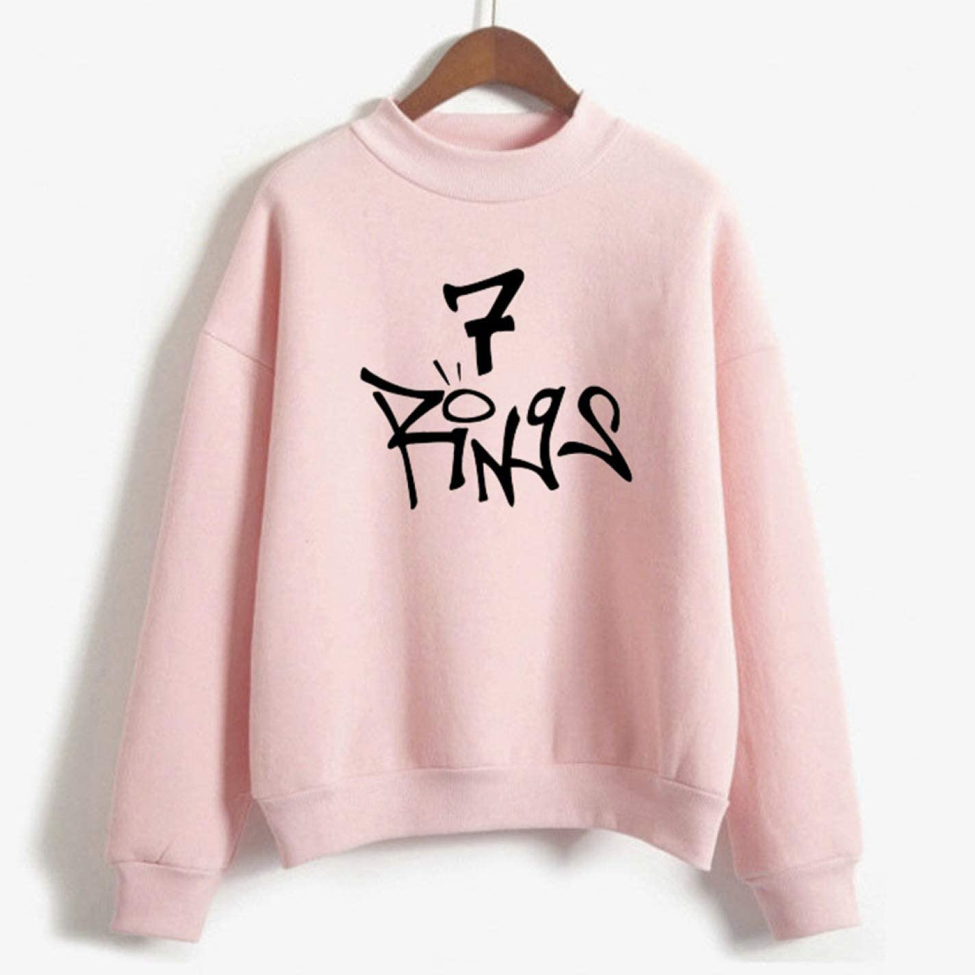 DK-tre Lovely Sweater Sweatshirt Hoodie 7 Rings Break Up with Your