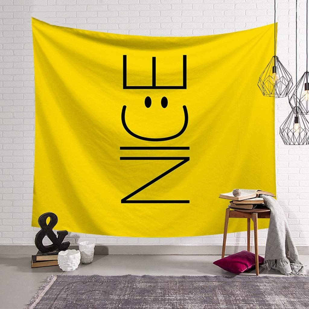 HappyL Art Tapestry Home Decor Wall Tapestry Tapestry (Color : B, Size : 150CM×130CM) by HappyL