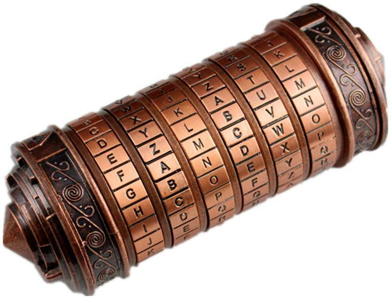Da Vinci Code Mini Cryptex Valentines Day Interesting Creative Romantic Birthday Gifts for Her