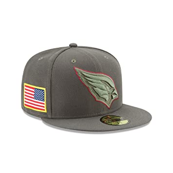 New Era NFL ARIZONA CARDINALS Salute to Service 2017 Sideline 59FIFTY Game  Cap 90d3cace1